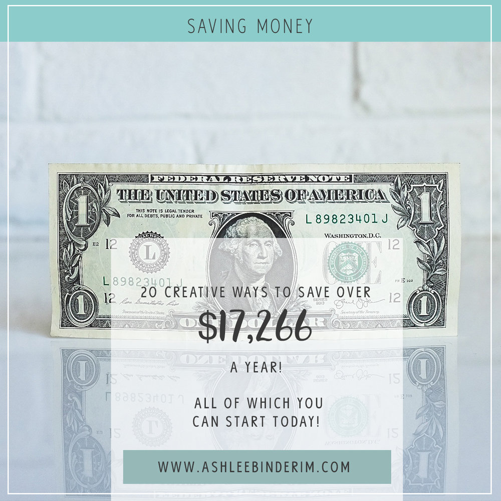HOW TO SAVE $17,266 A YEAR