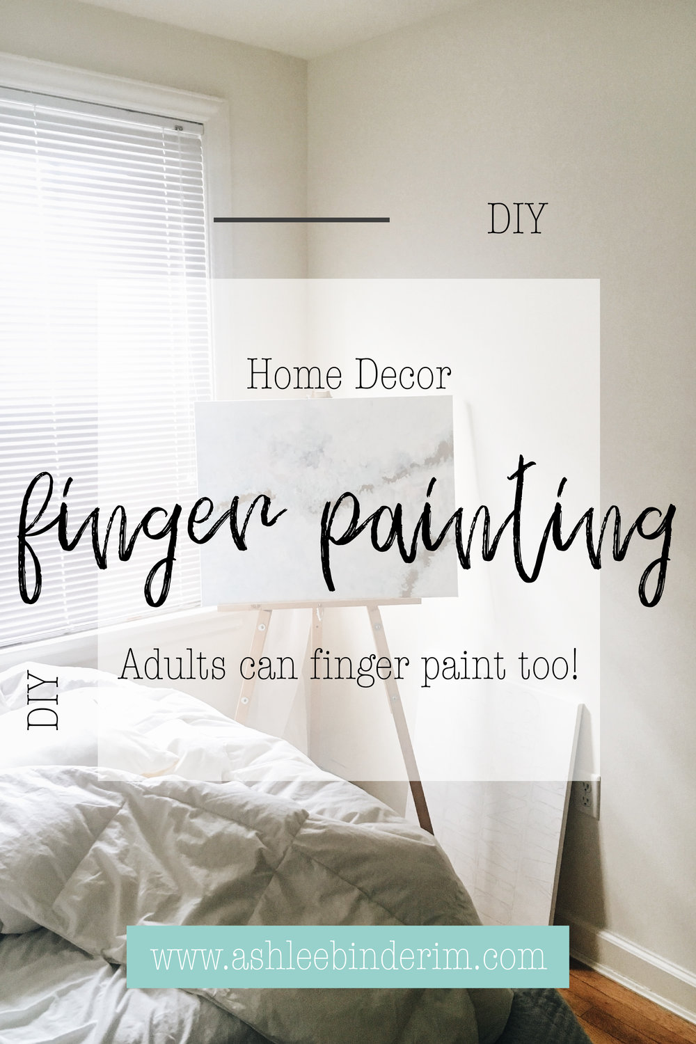 DIY Finger Painting