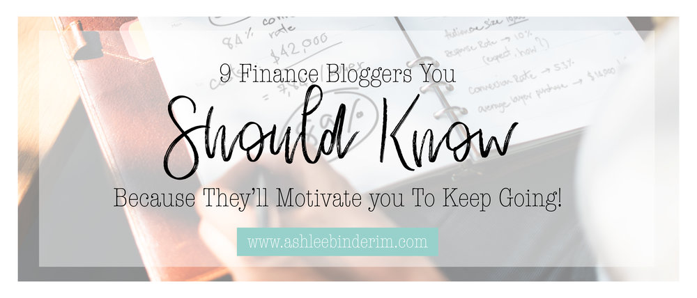 9 Finance Bloggers You Should Know