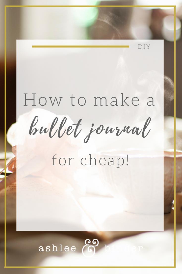 DIY bullet journal