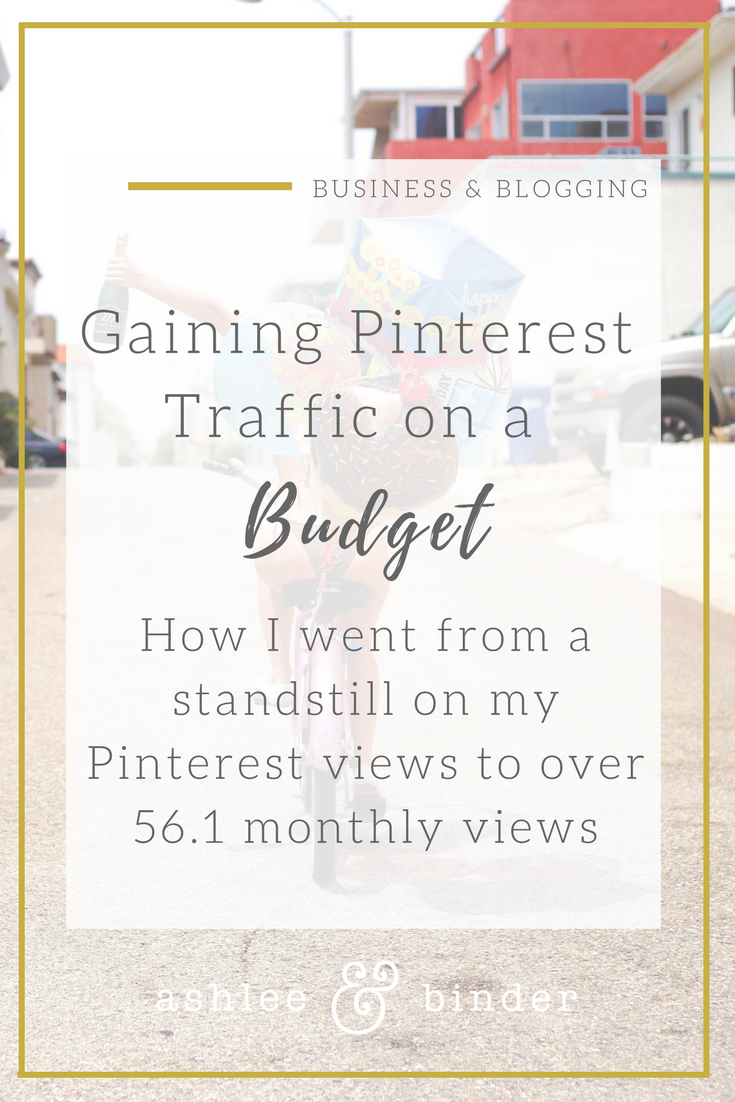 Gaining Pinterest Traffic on a budget using Tailwind