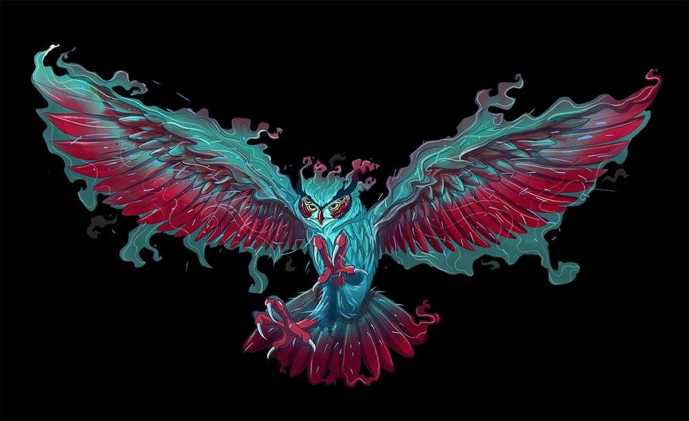 9 Lords of Night Artwork