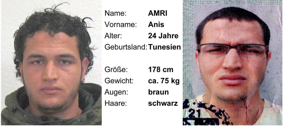 Anis Amri, prime suspect for the Berlin truck attack, didn't have a passport when German authorities tried to deport him