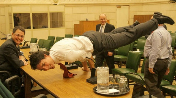 Trudeau is cute