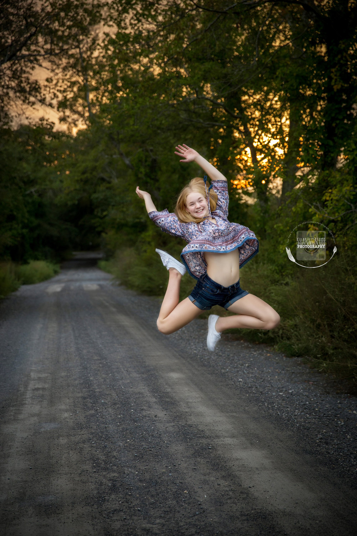 Having a blast at her photo shoot. Long Island, NY | Shannon Lee Photography