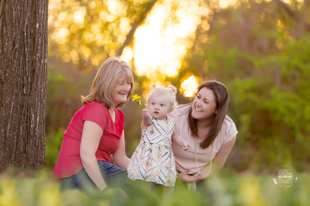 Three Generation Mommy and Me session | Grandma, Mom, and Baby| Long Island