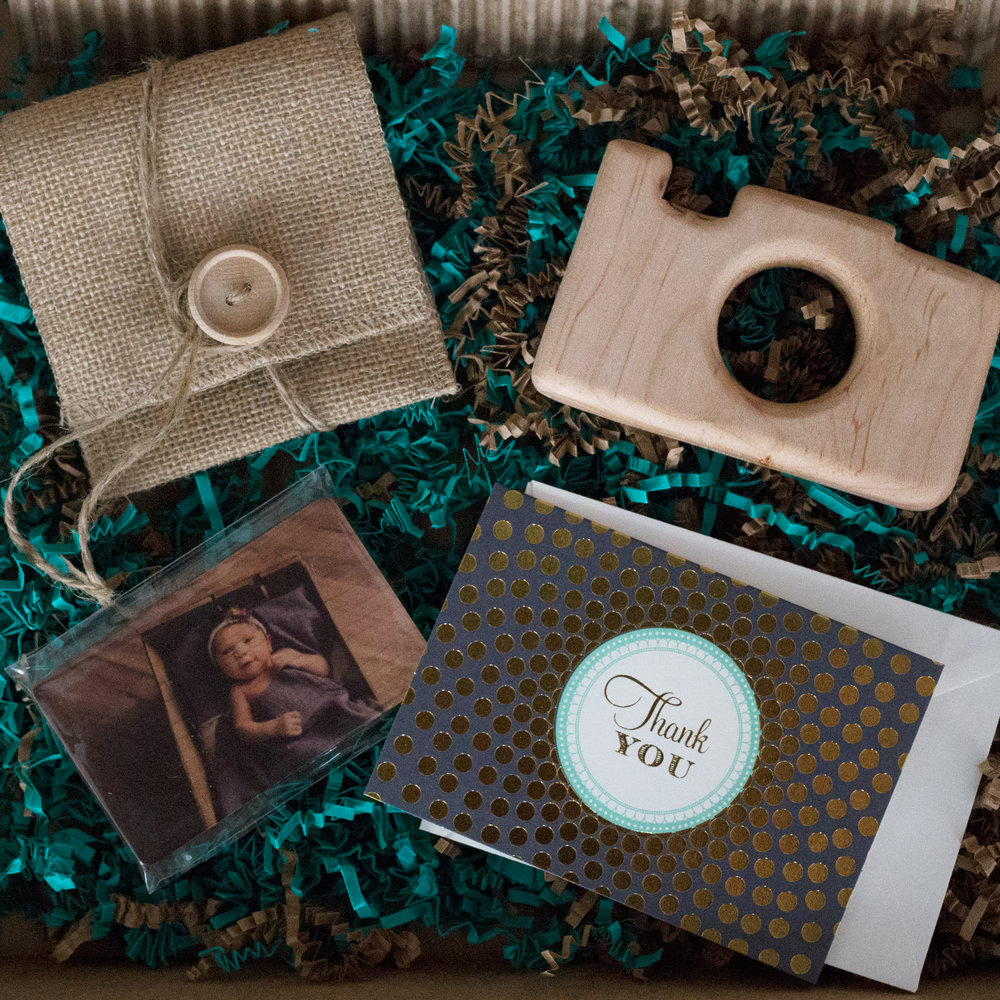 Camera Teether |Print Products Packaging |Long Island | Shannon Lee Photography