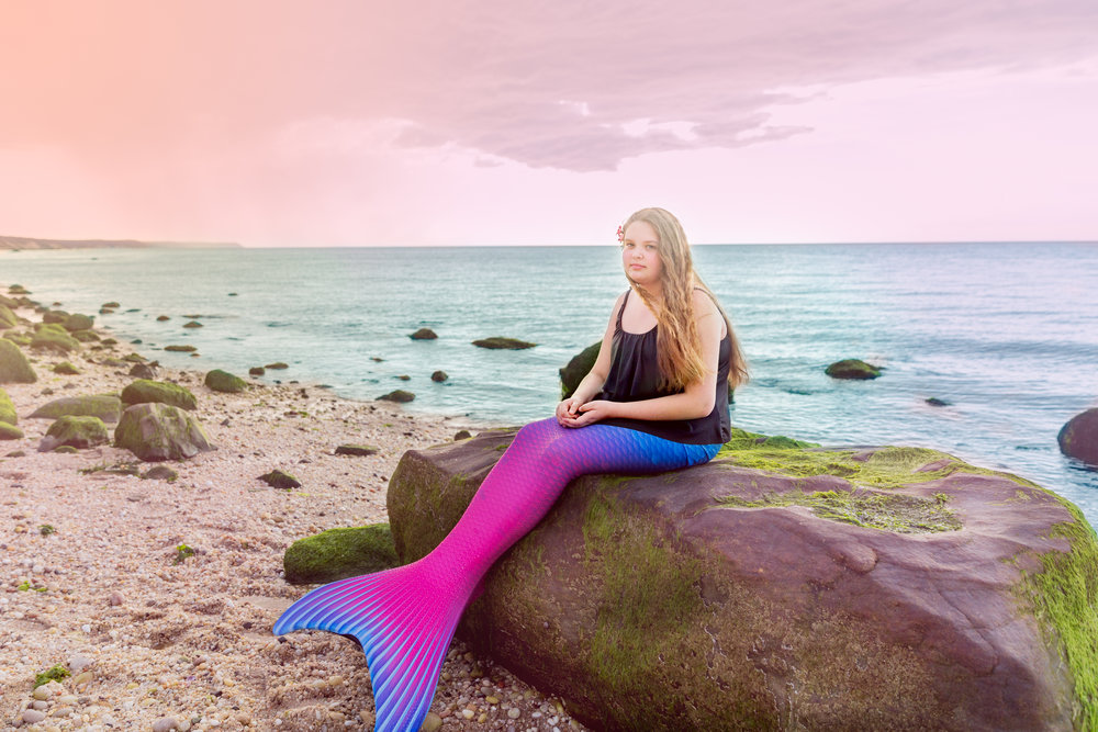 Mermaid Photo Shoot Long Island Teen
