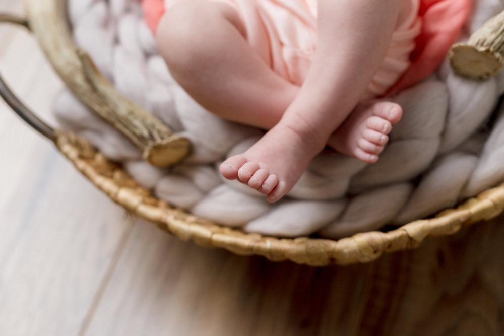Newborn Baby Feet Long Island
