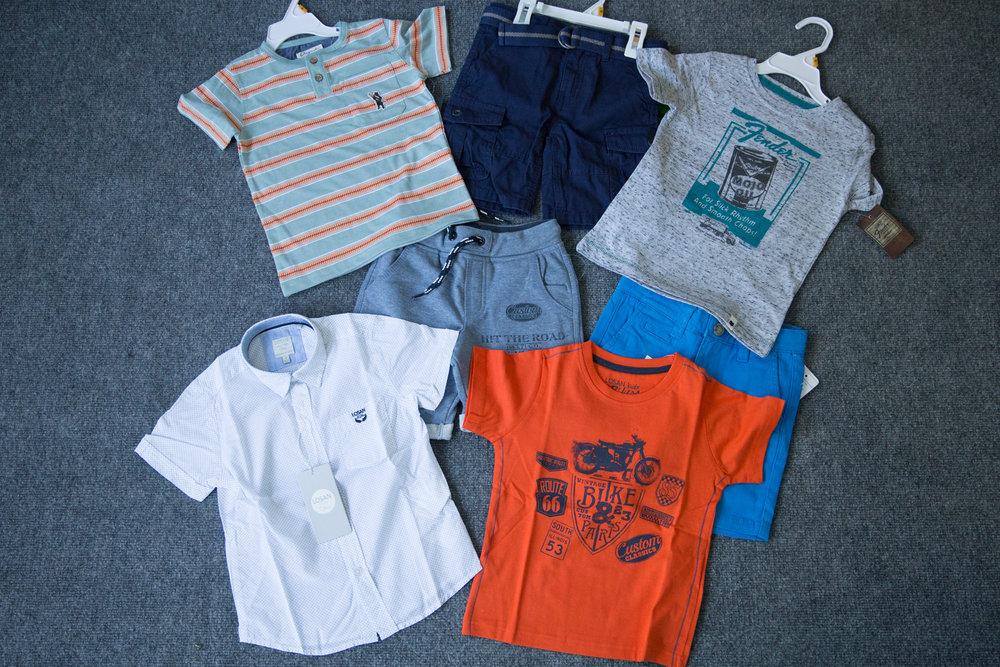 Kid box clothing
