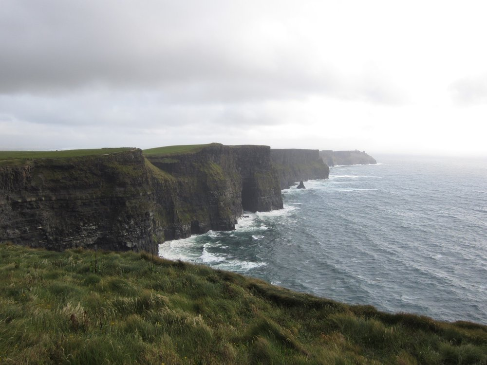 Cycling in Ireland, The Cliffs of Moher