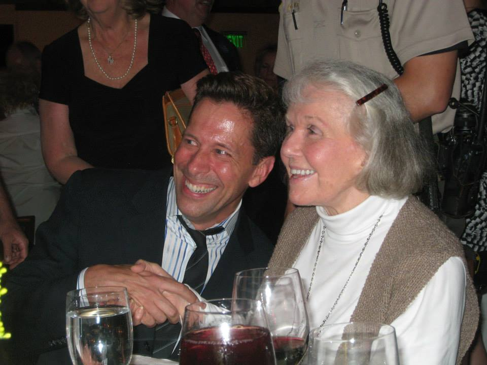 Doris Day and Scott at her 90th Birthday Celebration