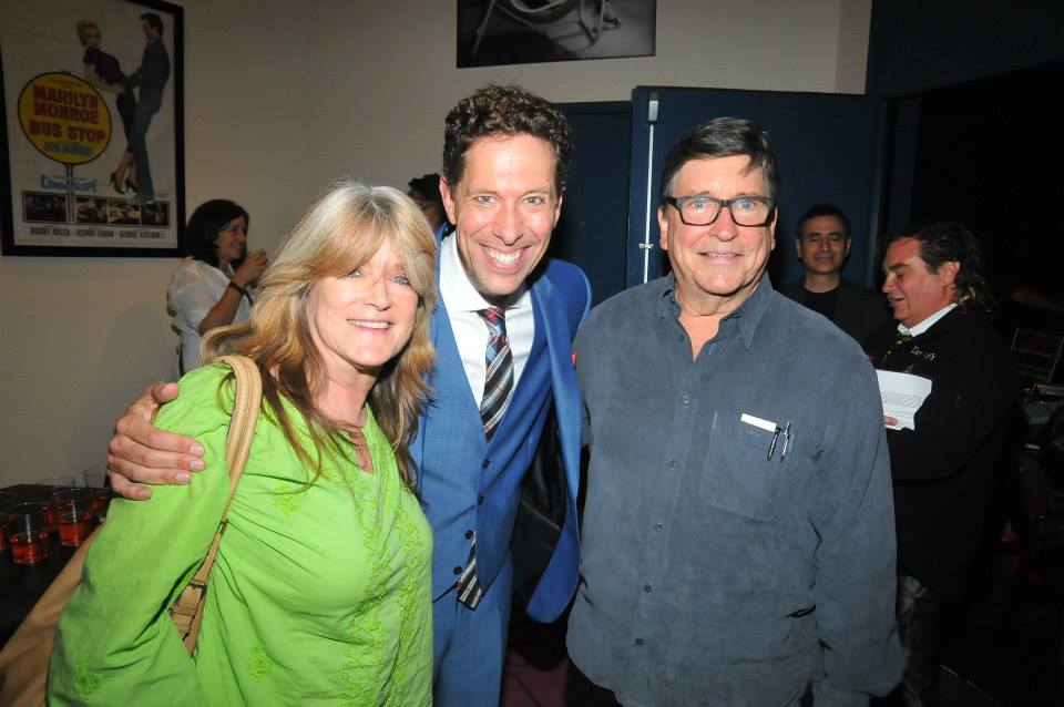 El Portal Theatre opening night benefit for DDAF of %22Doris and Me%22 with Susan Olsen and Christopher Olsen.jpg