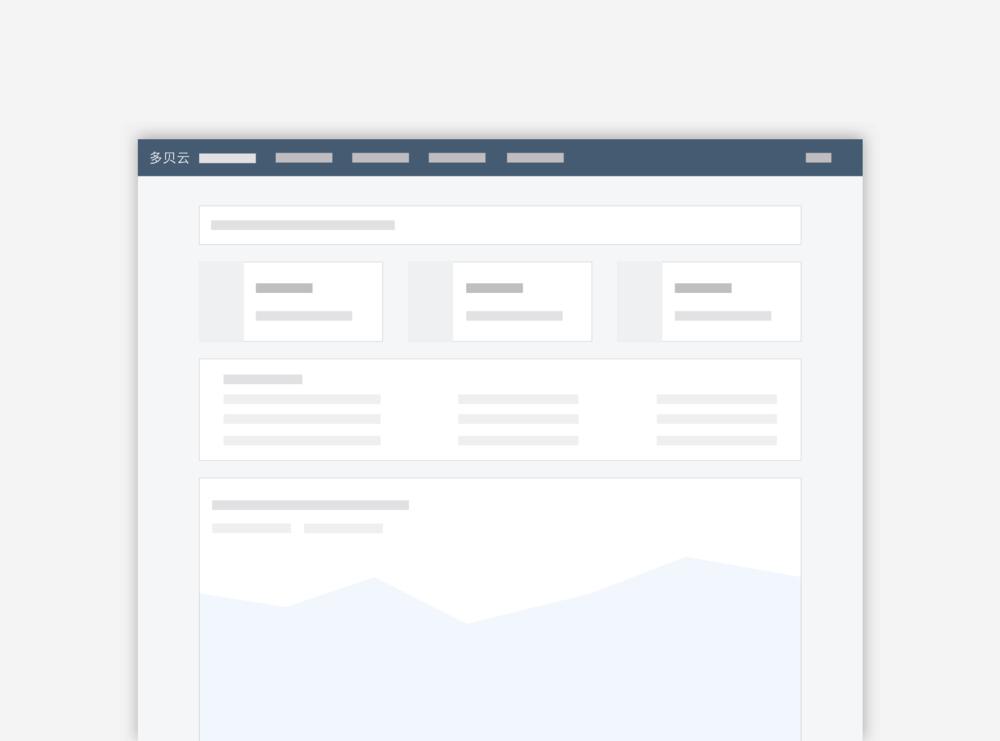 Duobeiyun Website Redesign