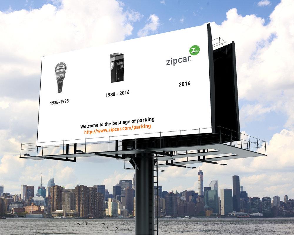New service outdoor billboard ad