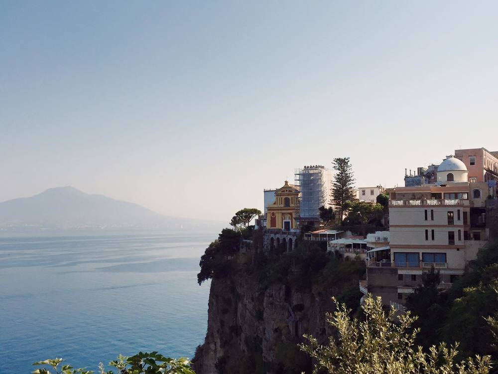 Cliffs of the Amalfi Coast