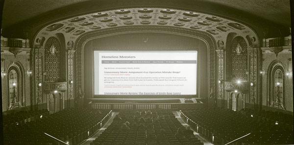Click any seat in this theater to be whisked to a semi-complete index of all the reviews, and the games that picked them! (The index automatically updates, but it drops older entries like  Crazy Eights  and  Mr X. )