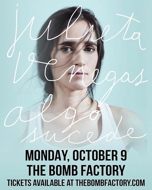 Opening for the great @julietavenegasp TONIGHT at @thebombfactorydallas ! See y'all at 8pm! #maytaband #julietavenegas #dallasmusic
