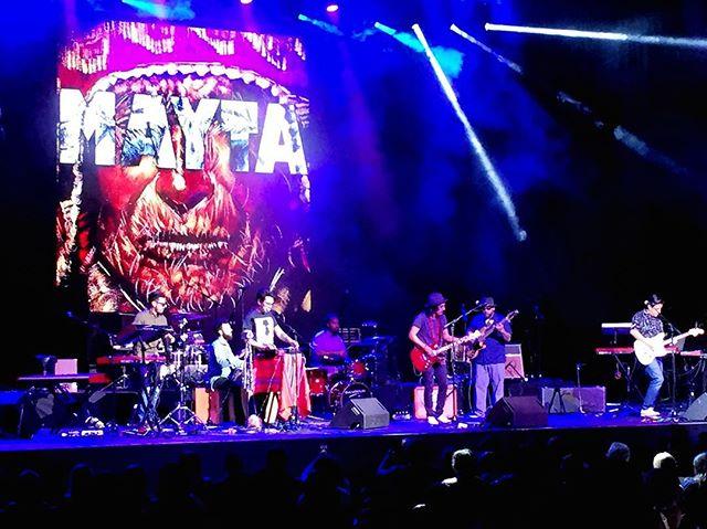 What a night! Thank you @julietavenegasp & @thebombfactorydallas for the opportunity! #maytaband #julietavenegas #dallasmusic #LatinRock