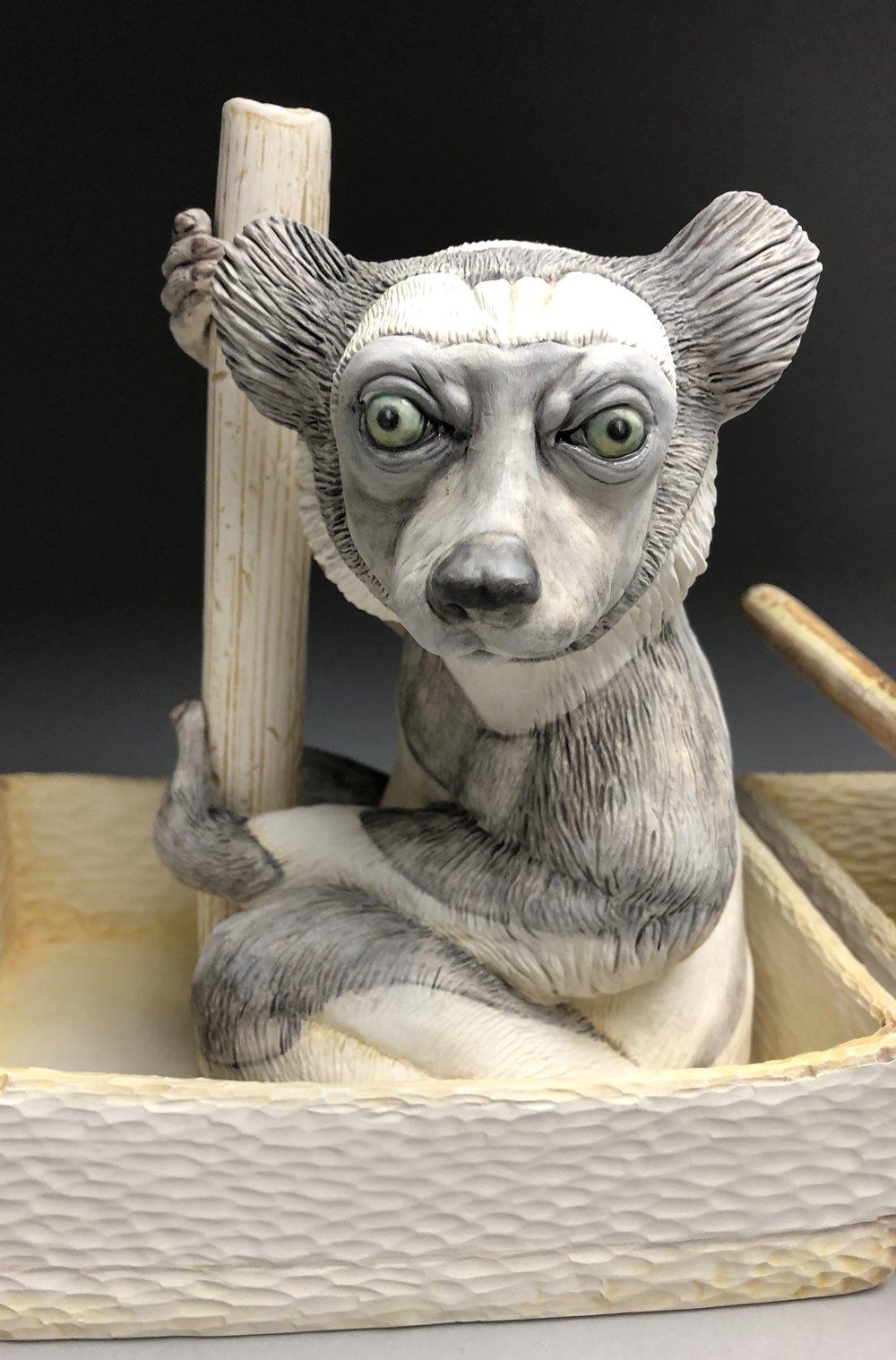 """Indri detail """"Ny voalavo II"""""""