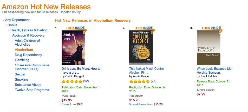 Caitlin #1 on Amazon