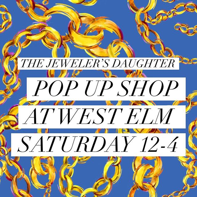 POP-UP SHOP ALERT 🚨 I'm poppin' up @westelmsummerlin tomorrow with all my best goods. Would love to see every one of your smiling faces! 💖