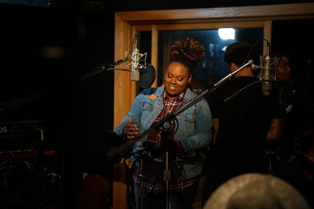 NEW MUSIC - On October 20, 2018 Kasaundra Shields recorded new music in Falls Church, Virginia in front of a live studio audience. New music is coming in 2019!