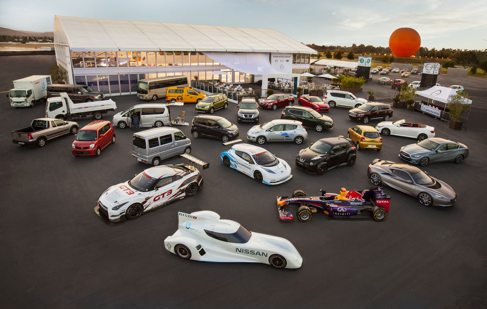 Nissan and Infiniti Global Vehicles