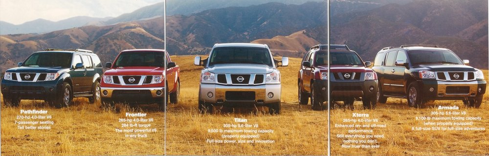 Nissan Trucks and SUVs