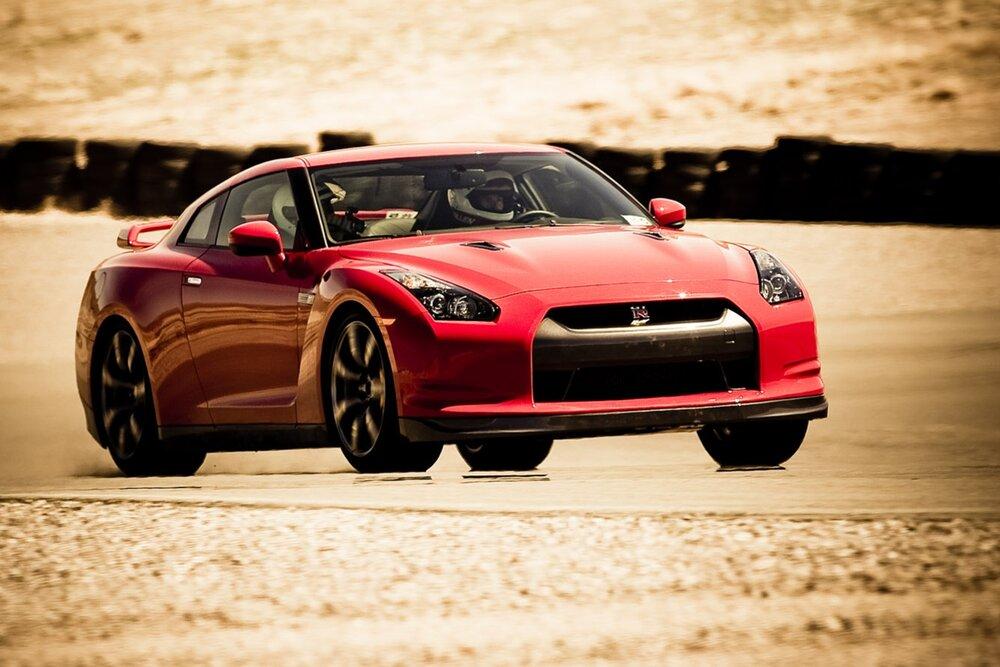 Nissan GT-R track