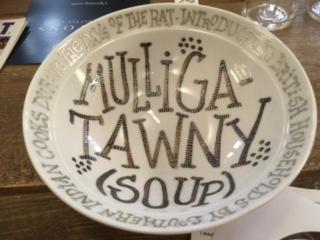 My 'Empty Bowls' bowl
