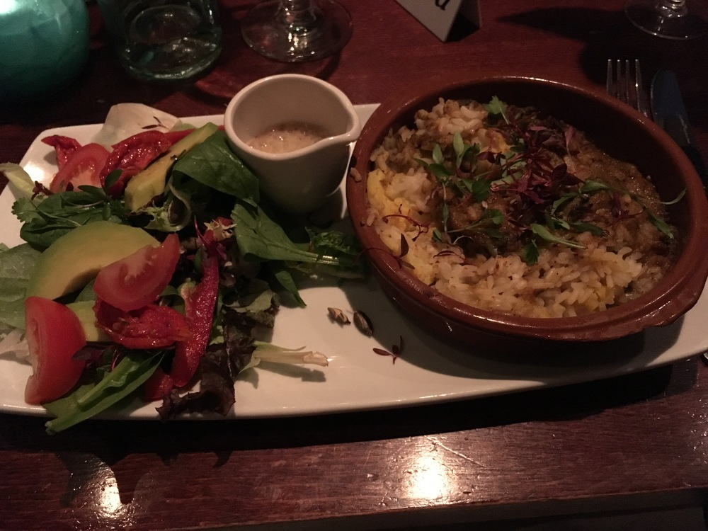 Very tasty Khichdi from The Slug & Lettuce menu