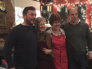 Richard Collins (TOFS), Gill Gibb of Tree of Hope, Jane Beedle (GBBO)and Sam Goode (TOFS)