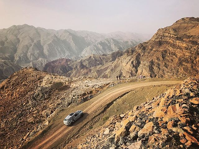 Long rugged paths to everywhere. Road testing the new #Cullinan with @rollsroycecars, the first RR of it's kind. It's been a fun ride thus far...check the link in profile for the story.