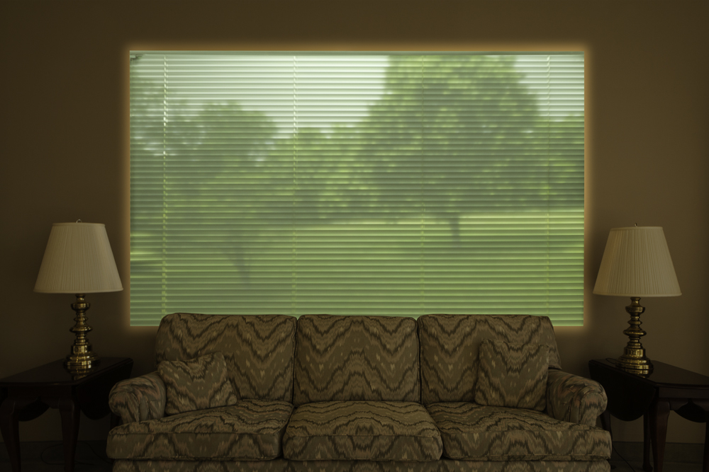 Window Blinds, 16 X 24, archival pigment print