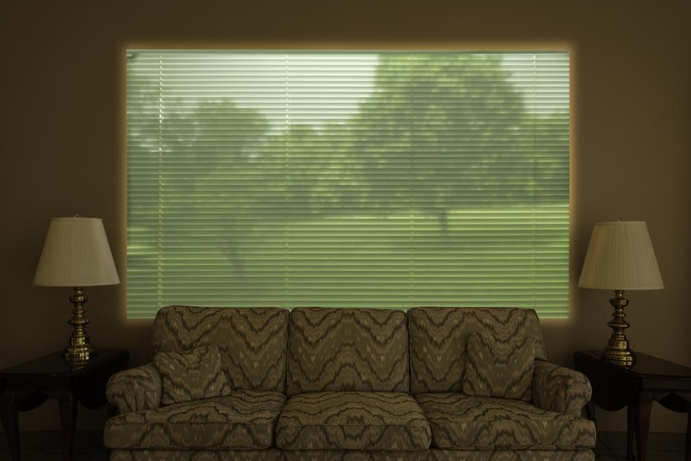 Window Blinds, 16 X 24, archival pigment print