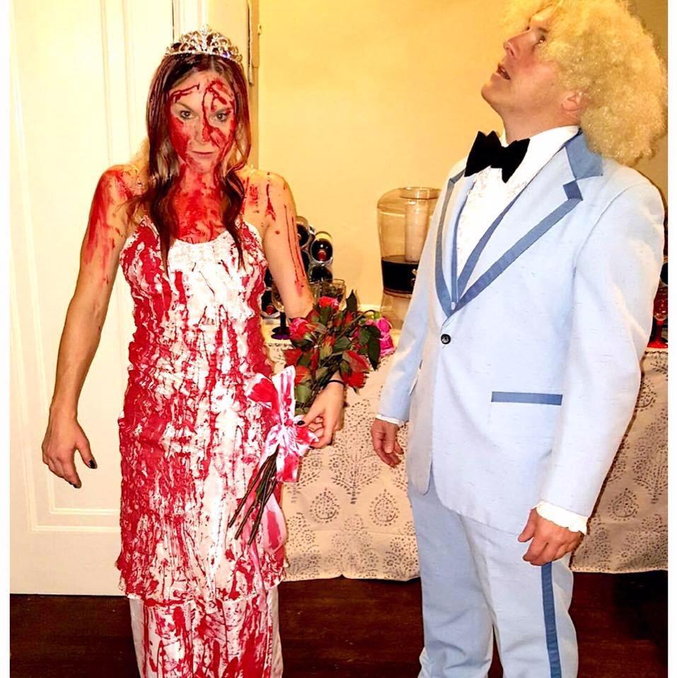 Studio 54 Couple (Roller Girl) & Best-Ever Couples Halloween Costume Ideas u2014 Andreau0027s Cooktales