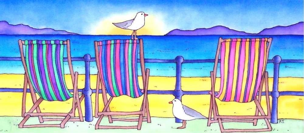 Big Bird on a Deck Chair II.jpg