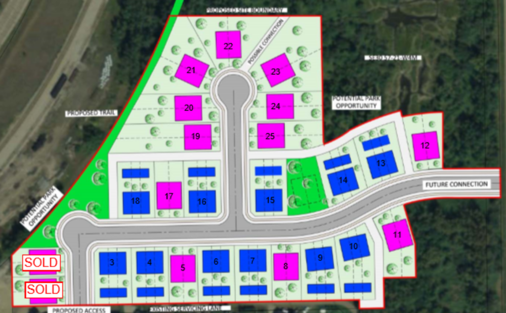 The Willows Lot Plan, K&M Group, Alberta