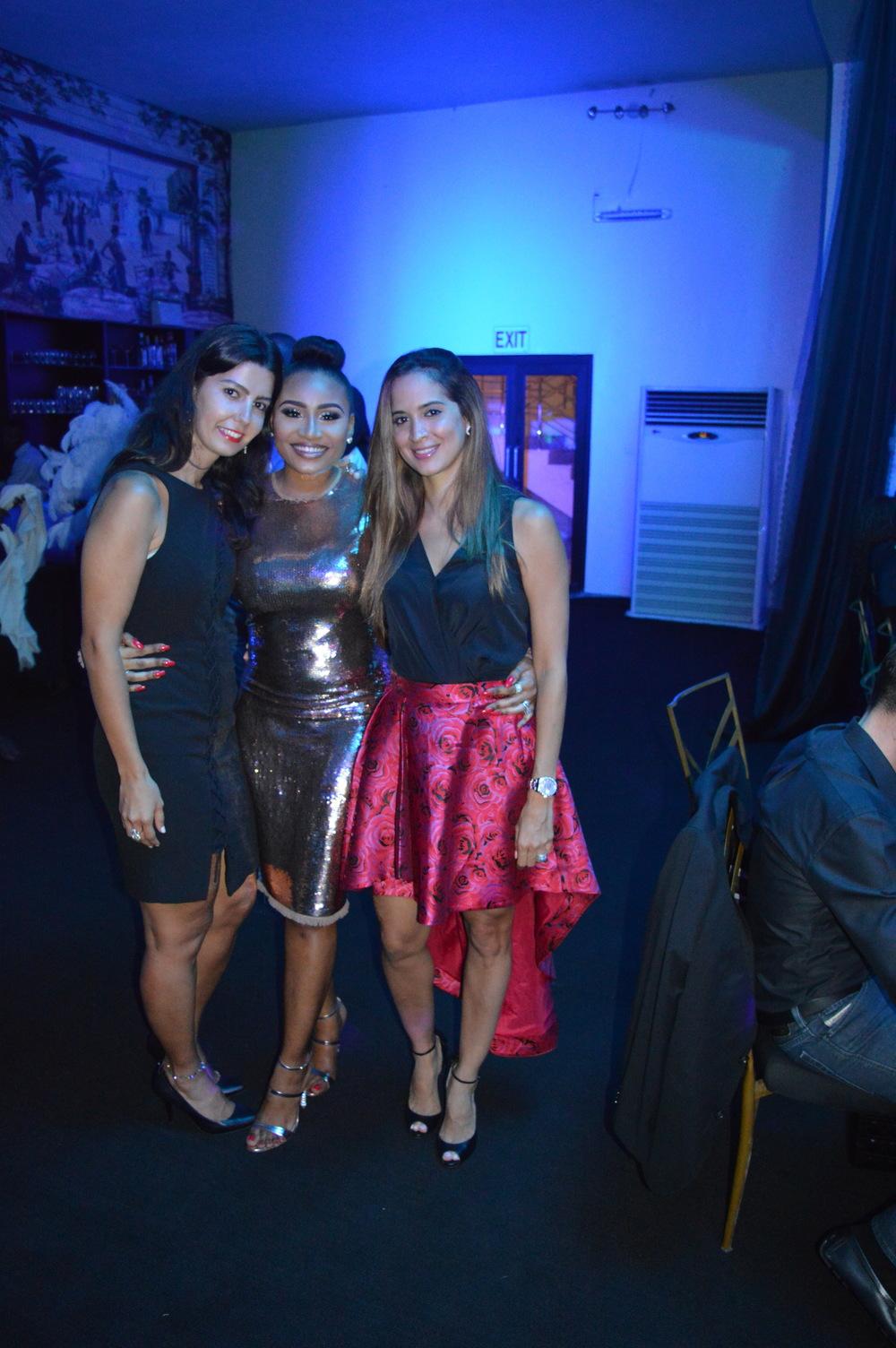 Rima, Moi and Nicole