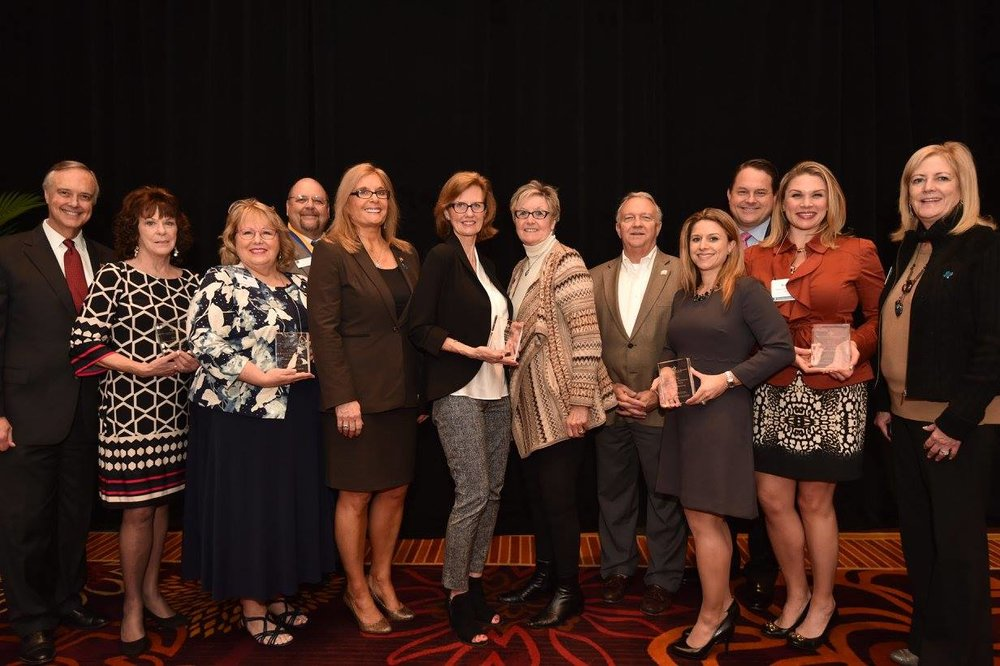 The Houston Association of REALTORS®, Austin Board of REALTORS®, San Antonio Board of REALTORS®, MetroTex Association of REALTORS® and Collin County Association of REALTORS® won education awards during Winter Meeting.