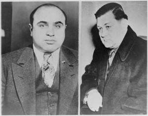 Al Capone and Bugsy Moran Photo