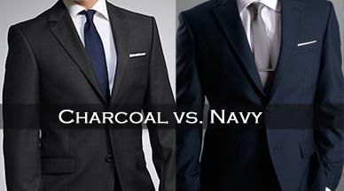 Charcoal Suit vs. Navy Suit | BALANI Custom Clothiers