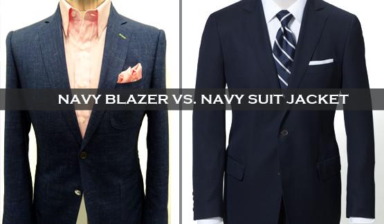 259f2365 Navy Suit Jacket vs. Navy Blazer - BALANI Custom Clothiers