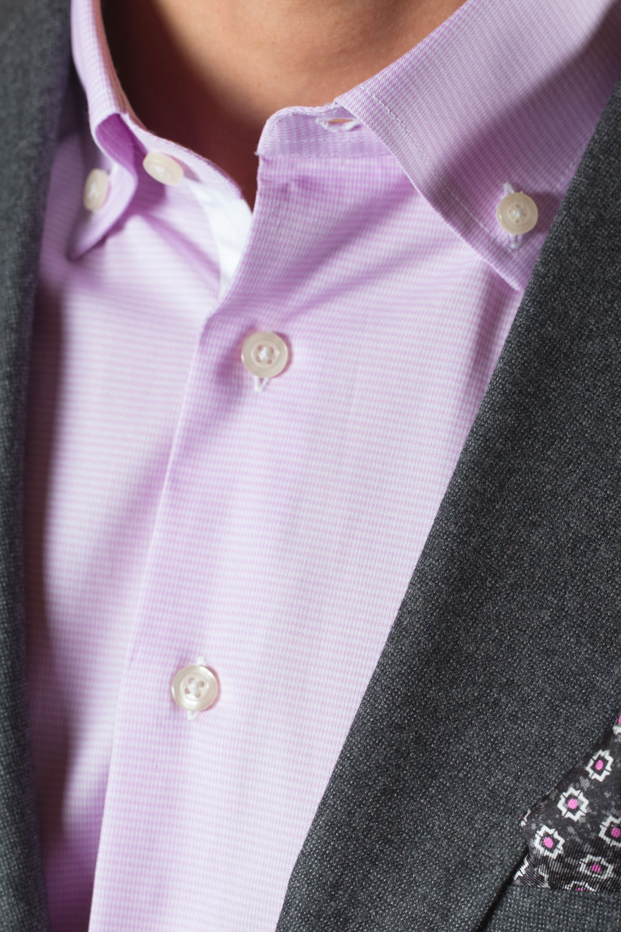 Lavender-Houndstooth-Custom-Tailored-Shirt-Button-down-COllar-White-Contrast-Placket-Charocal-Sportcoat-chicago-900.jpg