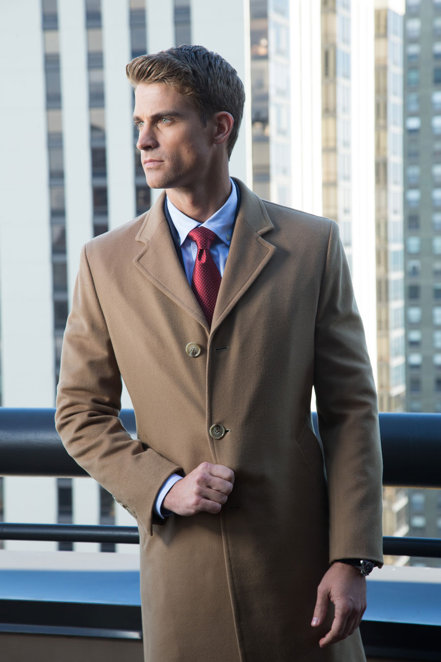 Camel-Cashmere-Custom-Overcoat-Outerwear-Notch-Lapel-singlebreasted-Lightblue-Shirt-Red-Tie-Winter-City-Balani-Chicago-900.jpg