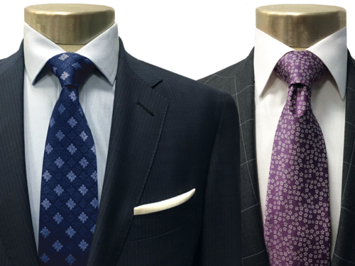 Purchase 2 custom suits - get 3 complimentary custom shirts