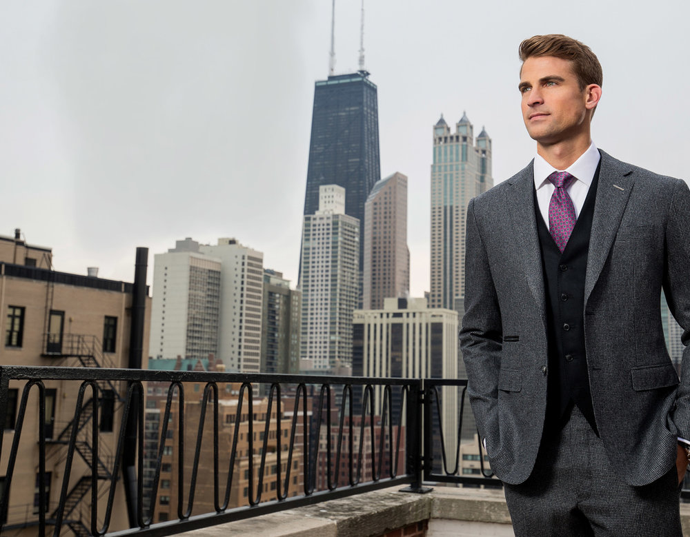 Chicago Il Balani Custom Suits Bespoke Tailored Men S
