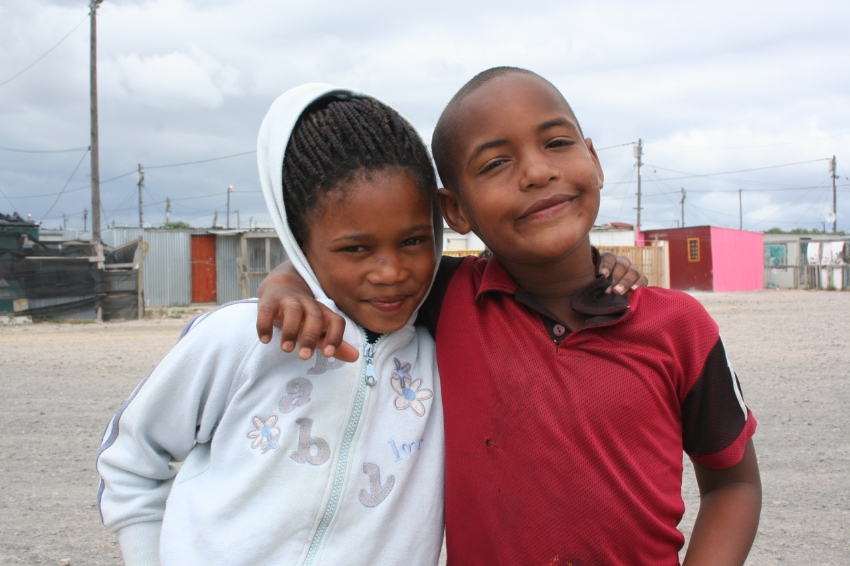 A few of the precious children we provide with direct health, nutrition, and support services in a township outside Cape Town, South Africa.