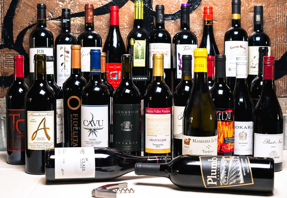 We offer 87 wines from 14 different Countries